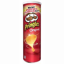 Pringles Original Crisps 190gm - pack of 2 tubes
