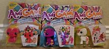 AMIGAMI MADE BY YOU HORSE CAT & MONKEY 3 SETS 1500 COMBO'S *NEW*