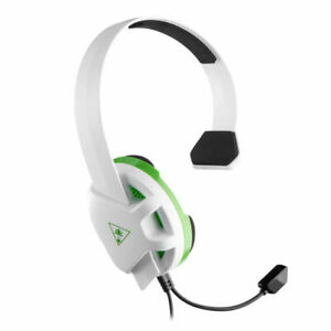 Turtle Beach TBS-2409-01 Recon Chat Gaming Headset for Xbox One - White/Green