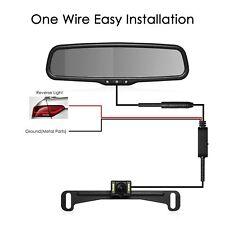 """Autovox 4.3"""" LCD Car Rear View Mirror Monitor + Night Vision Backup Camera Kit"""
