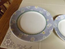 Corelle Bluefield Dinner Plates and 1 Luncheon Plate