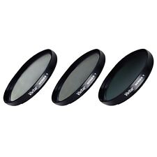 67mm UV CPL ND8 3 Piece Multicoated Filter Kit for Canon 17-85 18-135