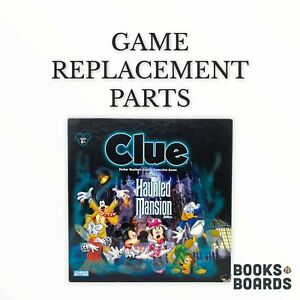 Clue Disney The Haunted Mansion Edition   PB   2004   Game Replacement Parts