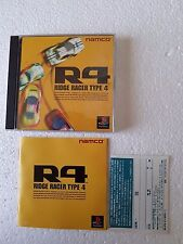 PSX SONY PLAYSTATION JAP NTSC R4 RIDGE RACER TYPE 4 - NAMCO - NO SPINE