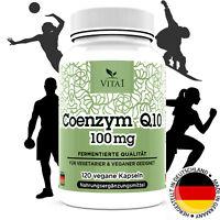 Coenzym Q10 hochdosiert 100mg 120 Kapseln Effekt von 100% natürlich Q10 VITA1