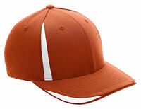 Flexfit Performance Moisture Wicking 6 Panel Mid Profile Front Sweep Cap. ATB102