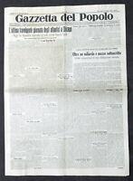 Giornale - Gazzetta del Popolo N. 170 - Ultima giornata atlantici a Chicago 1933
