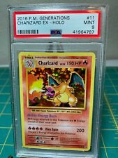 PSA 9 Mint Charizard Holo #11 XY Evolutions Pokemon ERROR MISLABELED generations