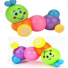 Lovely Colorful Caterpillar Wind-up Toys Kids Baby Developmental Educational Toy