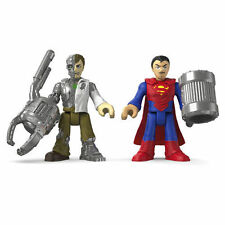 Fisher-Price Imaginext Dc * Super Friends Superman & Metallo Action Figure