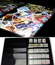 Premier PVC Postage Stamp Album Collection stock book 20 Pages for 500+ stamps