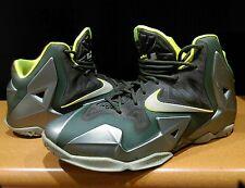 Nike LeBron XI 11 Dunkman Mica Green Sea Spray Volt Green US 7Y. P/up VIC3805