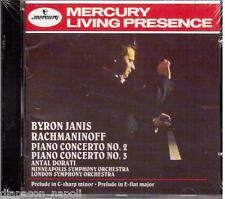 Rachmaninov: Piano Concertos No 2 & 3  / Byron Janis, Antal Dorati - CD Mercury