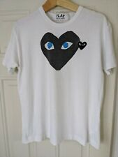 COMMES DES GARÇON LOVE HEART CREW NECK S/SLEEVE T-SHIRT size Medium