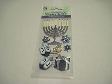 Scrapbooking Crafts Stickers Sandylion Hanukkah Menorah Dreidels Coins Present