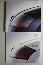 Prospekt Audi TT Coupe, 6.1998, 56 Seiten + technische Daten / Farben