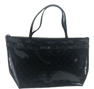 Kate Spade Camellia Street Jeralyn Embossed Black Patent Leather Bag