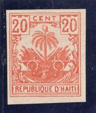 Haiti Scott # 43 var - unused -   imperf