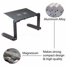 360° Adjustable Vented Black Laptop/Notebook/Computer Stand Holder Desk Table