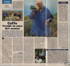 Coupure de presse Clipping 1993 Jean Pierre Coffe  (1 page 1/2)
