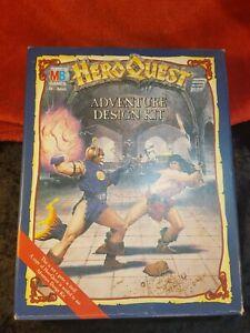 Hero Quest - Adventure Design Kit MB Games 1990 - Complete VGC
