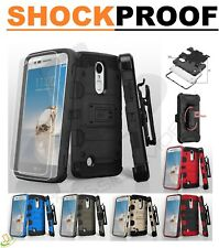 Samsung GALAXY S9 /Plus Hybrid Armor Rugged Hard Case Cover Clip Holster +Screen