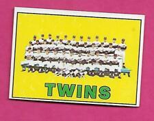 1967 TOPPS # 211 MINNESOTA TWINS TEAM PHOTO NRMT CARD (INV# A8351)