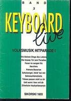 Keyboard live Band 3 SIKORSKI 1603 Michael Grundlach