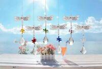 Rainbow Maker Sun Catcher Hanging Window Crystal Suncatcher dragonfly Decor Gift