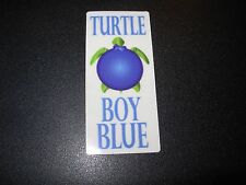 WORMTOWN BREWERY Turtle Boy Blueberry Ale STICKER decal craft beer brewing