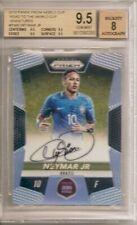 2018 Prizm World Cup Neymar Jr. Auto BGS 9.5 On-Card Autograph #'d 73/99 Brasil
