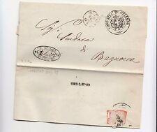 1874 REGNO franchigia CELLENO-BAGNOREA+5 timbri-i315