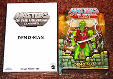 DEMO-MAN 1ST ISSUE MASTERS OF THE UNIVERSE CLASSICS FIGURE MOTUC DEMOMAN