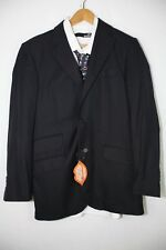 Mens HACKETT LONDON Jacket Blazer WOOL Smart Casual 38L EXCELLENT Blue UP1RL