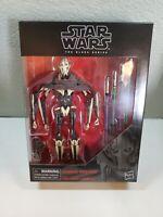 New In Stock!!! Disney Star Wars The Black Series General Grievous D1 Hasbro