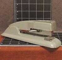 "Industrial Vintage Swingline Stapler #27 Art Deco 8.5"" Home Office gray USA"