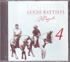 LE AVVENTURE DI LUCIO BATTISTI E MOGOL 4 (2006) CD ORIGINALE USATO