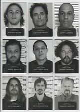 2015 Sons of Anarchy Seasons 6 & 7 Complete (9) Card Mug Shot Set