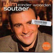 (AR574) Wim Soutaer, Zonder Woorden - 2004 DJ CD