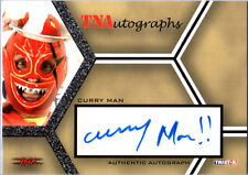 TNA Curry Man 2008 Impact SILVER Authentic Autograph Card DWC