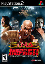 TNA Impact (Sony PlayStation 2, 2008) PS2 CIB Complete With Manual