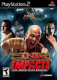 TNA Impact (Sony PlayStation 2, 2008) PS2