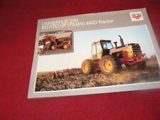 Versatile 276 Tractor Dealer's Brochure