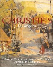 Christie's California Western American Paintings Sculpture Auction Catalog 2001