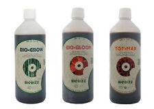 Biobizz-Bundle Pack 1l cada crecer Bloom Top Max-Bio Bizz