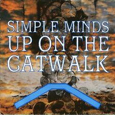 "SIMPLE MINDS up on the catwalk/brass band in africa VS 661 uk 1984 7"" PS EX/EX"