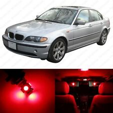 14 x Brilliant Red LED Interior Light Package For 1999 -2005 BMW 3 Series M3 E46