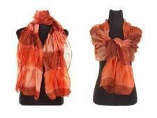 Bufandas y pañuelos de mujer de color principal naranja de seda