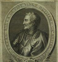 Roger Di Pinsgrand Master Di Ospedale Ordre Saint-Jean Di Gerusalemme 1725
