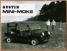 AUSTIN MINI-MOKE Sales Brochure 1965 #2418